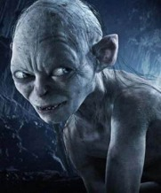 "Gollum (from ""Lord of the Rings""; my image for Shame)"